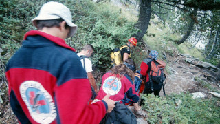 Διάσωση τριών Γάλλων ορειβατών από το φαράγγι Ρίντομο στον Ταΰγετο