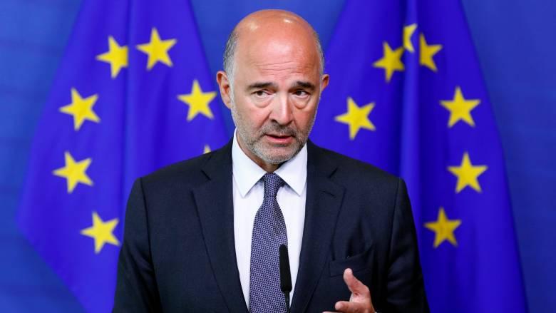 Πιέρ Μοσκοβισί: Η Ελλάδα μπορεί επιτέλους να γυρίσει σελίδα