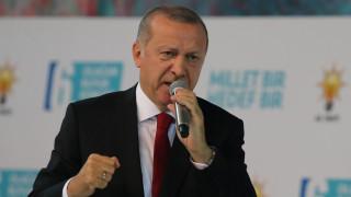 Ερντογάν: Η θρησκεία και η σημαία μας δέχονται επίθεση