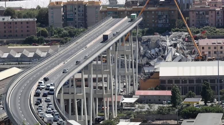 Γένοβα: Νέο συγκλονιστικό βίντεο από την κατάρρευση της γέφυρας