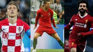 Μόντριτς, Ρονάλντο και Σαλάχ υποψήφιοι κορυφαίοι της σεζόν 2017-18