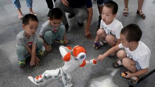 Ρομπότ - δάσκαλοι ξένων γλωσσών στην Ιαπωνία