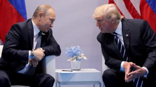 Κρεμλίνο: Δεν έγινε καμία συζήτηση για τους όρους των κυρώσεων μεταξύ Τραμπ και Πούτιν