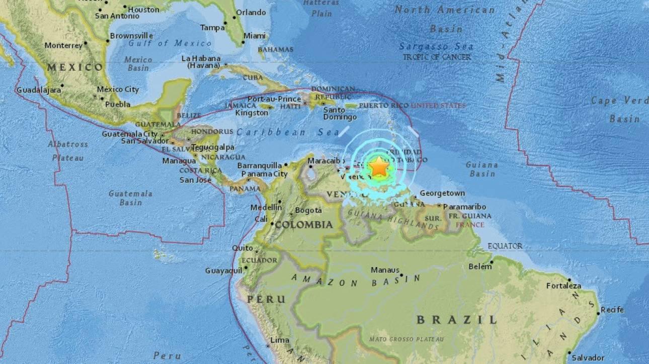 Σεισμός 7,3 Ρίχτερ στη Βενεζουέλα