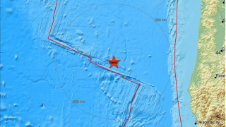 Σεισμός 6,3 Ρίχτερ δυτικά του Όρεγκον