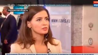 Ρωσίδα δημοσιογράφος λιποθύμησε στον «αέρα»