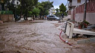 Ξεκίνησε το αντιπλημμυρικό έργο στη Μάνδρα