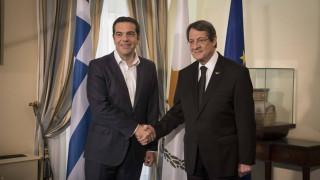 Συγχαρητήρια Αναστασιάδη σε Τσίπρα για την έξοδο από το μνημόνιο