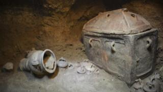 Σημαντικά ευρήματα στον μινωικό τάφο που εντοπίστηκε στην Ιεράπετρα