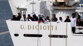 Ιταλία: Σε απεργία πείνας κατήλθαν ορισμένοι από τους μετανάστες του Diciotti