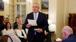 Ορκίστηκε ο νέος πρωθυπουργός της Αυστραλίας