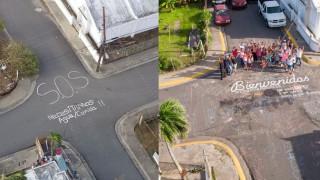 Το μήνυμα αισιοδοξίας στην πόλη του Πουέρτο Ρίκο που πέρυσι ζητούσε απεγνωσμένα «βοήθεια»