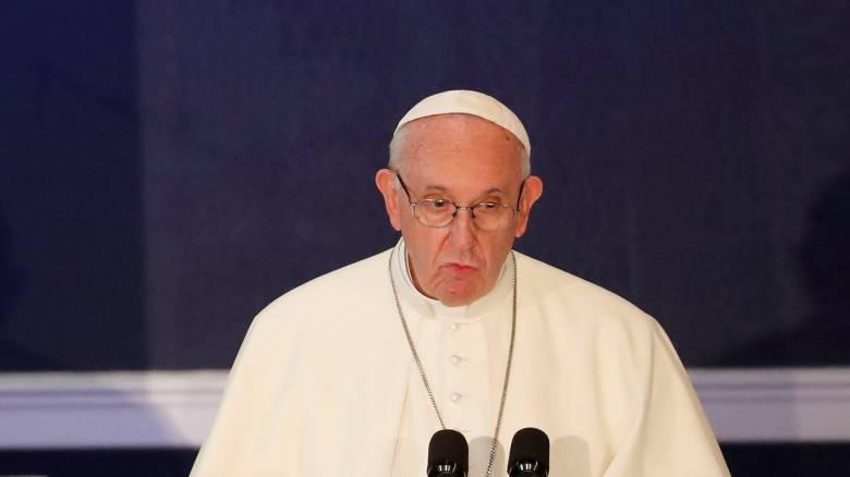Πάπας Φραγκίσκος: Πηγή ντροπής για την εκκλησία οι υποθέσεις κακοποίησης ανηλίκων