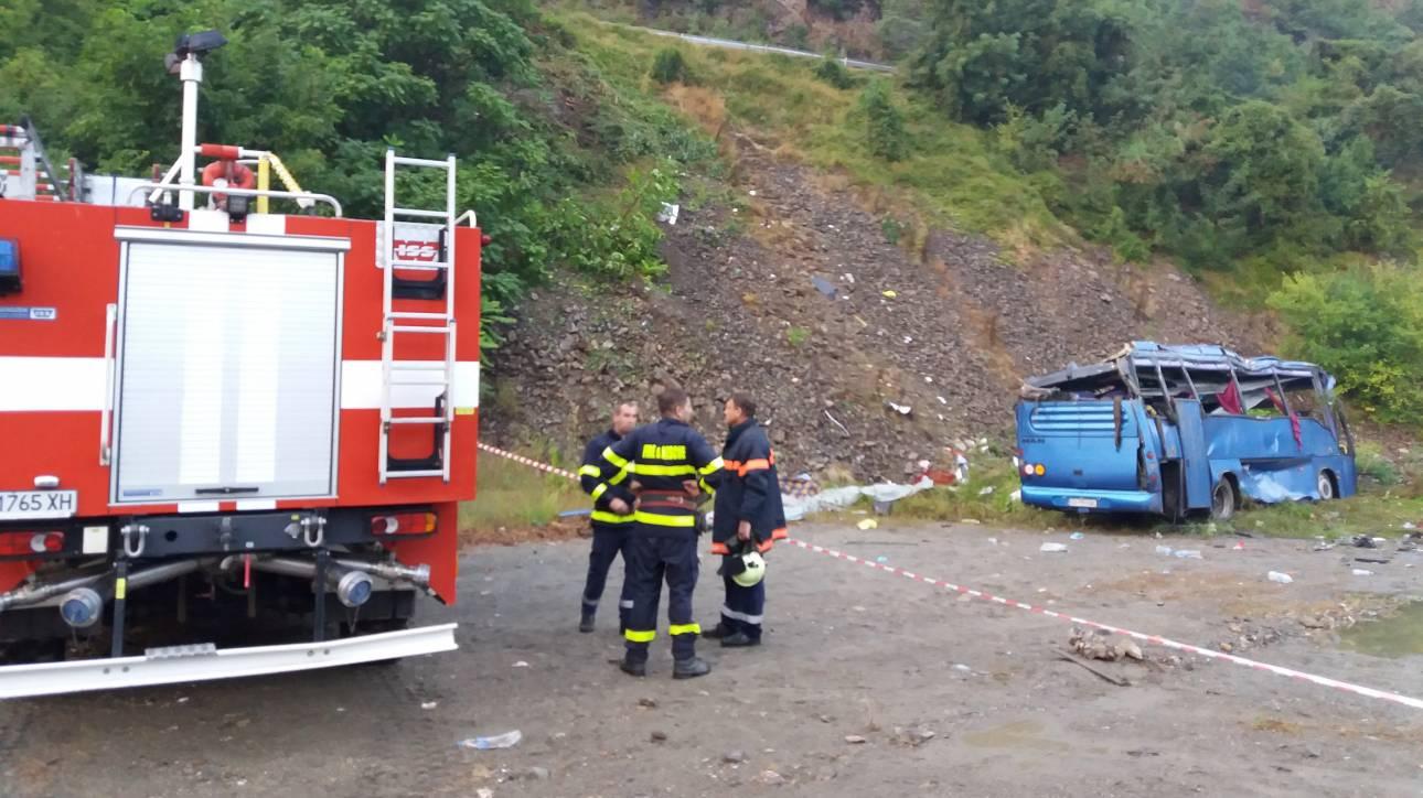 Αυξήθηκε ο αριθμός των νεκρών από το τροχαίο δυστύχημα στη Βουλγαρία