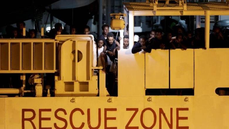 Αίσιο τέλος στην περιπέτεια των μεταναστών και προσφύγων του Diciotti