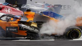 Formula 1: Σοκαριστικό ατύχημα για Αλόνσο