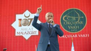 Ερντογάν: Η Τουρκία θα φέρει «ειρήνη και ασφάλεια» σε Ιράκ και περιοχές της Συρίας