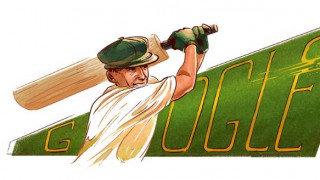 Sir Donald George Bradman: Αφιερωμένο στον σπουδαίο παίκτη του κρίκετ το Google Doodle