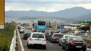 Αποκαταστάθηκε η κυκλοφορία στην Αθηνών - Λαμίας μετά τη διαμαρτυρία προσφύγων