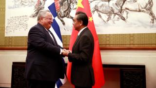 Κοτζιάς: Σε άριστο επίπεδο οι σχέσεις Ελλάδας - Κίνας