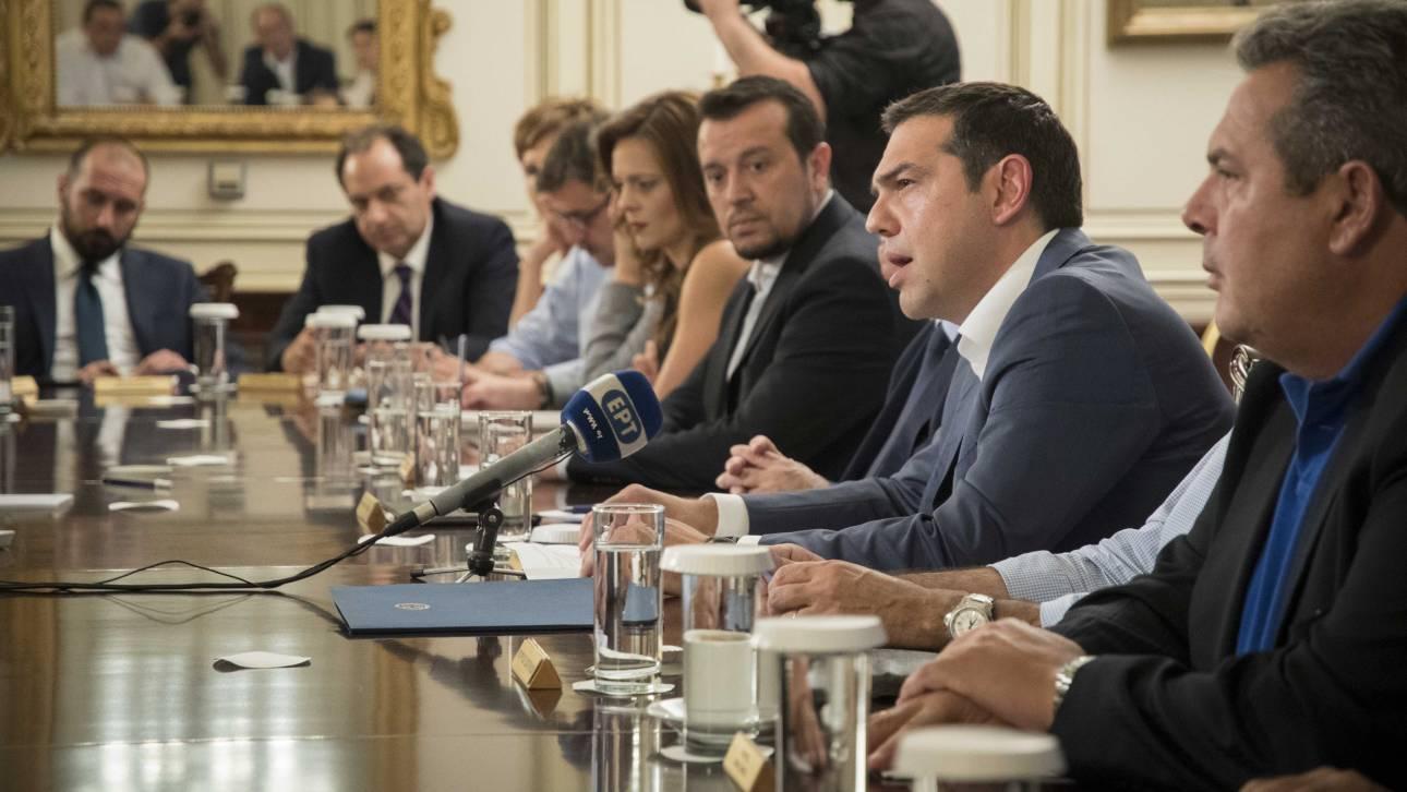 Ανασχηματισμός: Αυτό είναι το νέο υπουργικό συμβούλιο