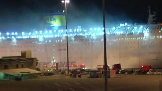 Στο λιμάνι του Πειραιά το πλοίο «Ελ. Βενιζέλος» - Ασφαλείς οι 875 επιβάτες