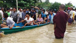 Μιανμάρ: Πάνω από 50.000 άνθρωποι απομακρύνθηκαν μετά την κατάρρευση φράγματος