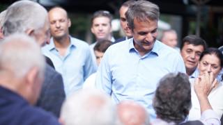 Μητσοτάκης: Το ζητούμενο είναι να έρθει μια κυβέρνηση που θα λύσει πραγματικά προβλήματα