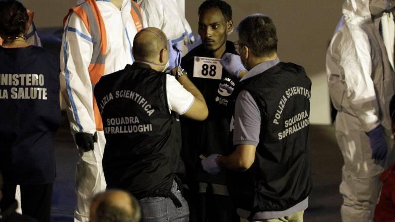 Ιταλία: Ένταση μπροστά στο κέντρο όπου φιλοξενούνται μετανάστες του Diciotti
