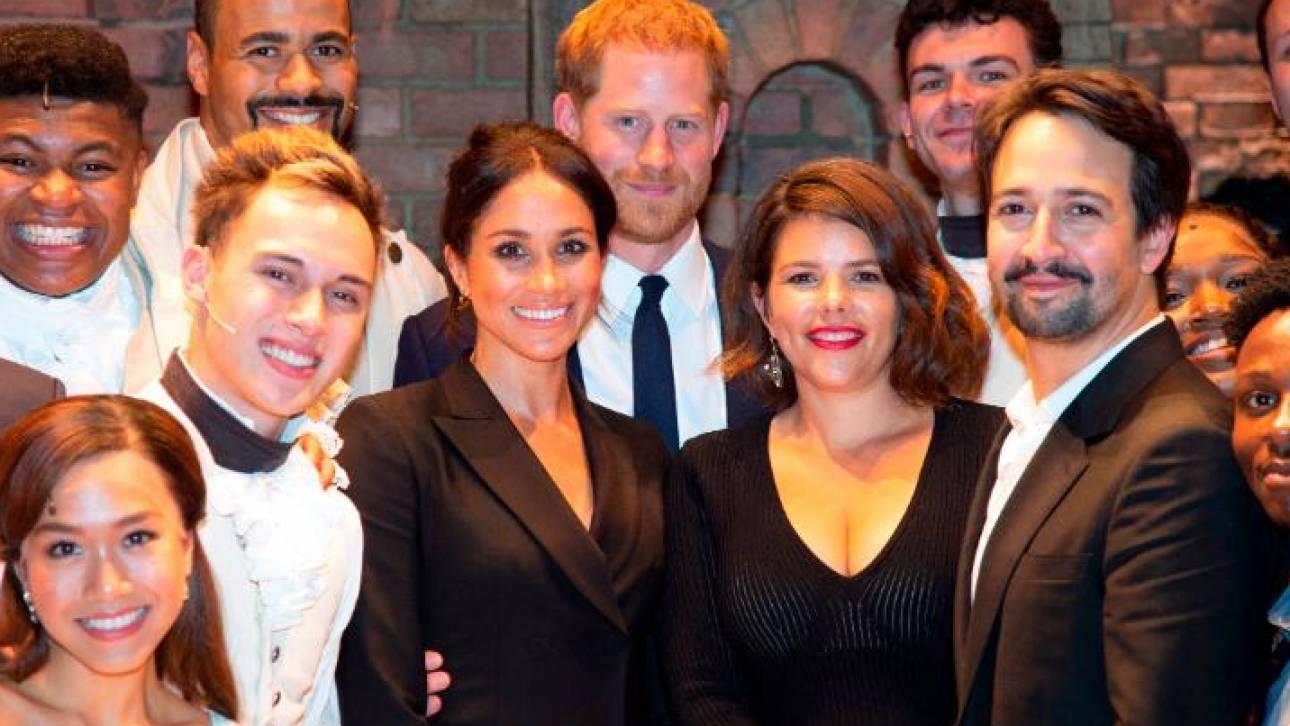 Πρίγκιπας Χάρι: δείτε το ντεμπούτο του στο μιούζικαλ Hamilton (vid)