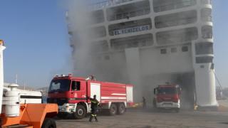 «Ελευθέριος Βενιζέλος»: Επανέρχεται σταδιακά σε ορθή θέση το πλοίο