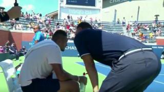 Τένις: Ο διαιτητής έγινε για λίγο ...προπονητής του Κύργιου!