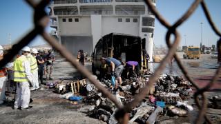 Βίντεο ντοκουμέντο: Η μάχη με τη φωτιά μέσα στο γκαράζ του «Ελευθέριος Βενιζέλος»