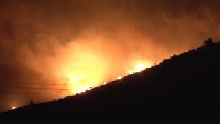 Πυρκαγιά στο χωριό Αργάσι στη Ζάκυνθο