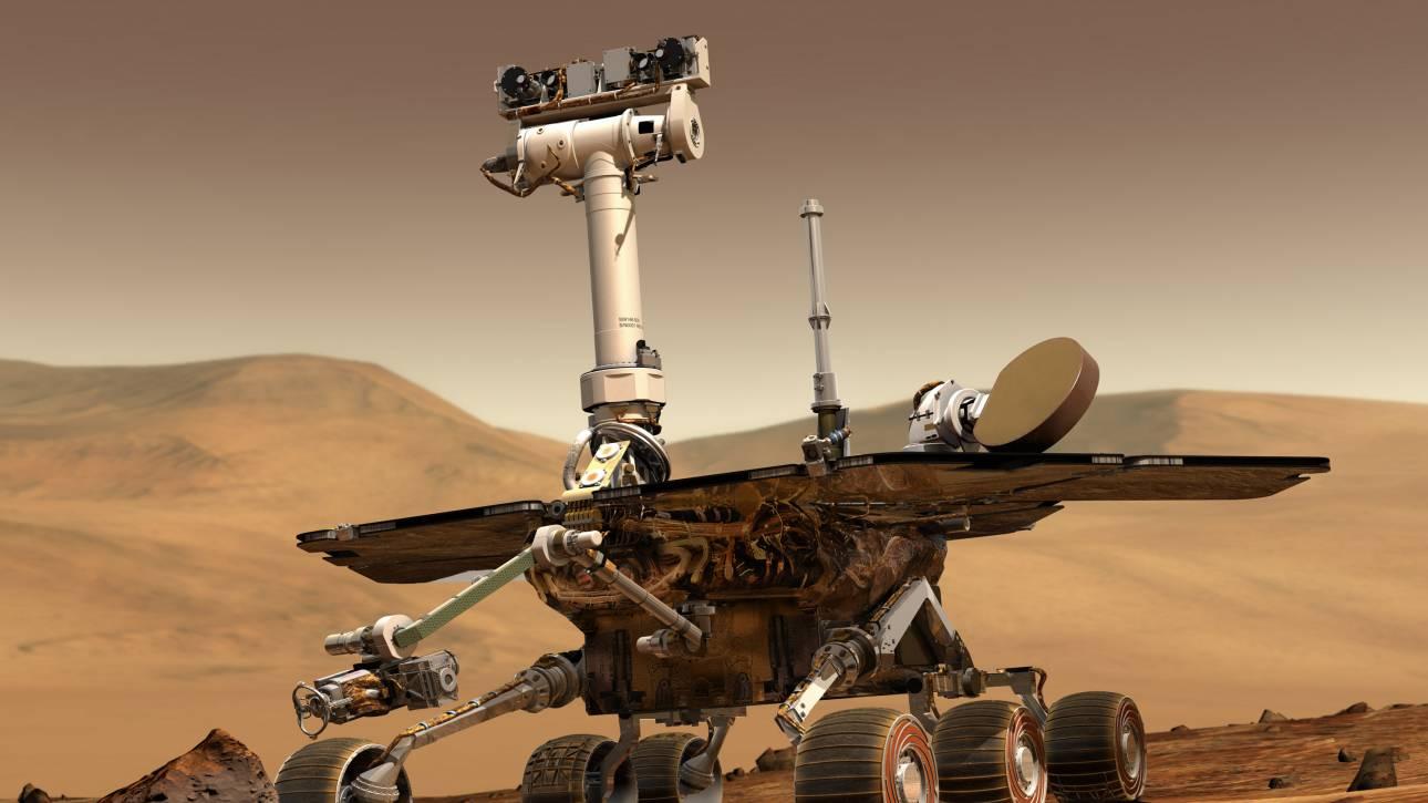 Αμμοθύελλα «σκοτώνει» το Opportunity στον Άρη και η NASA έχει 45 μέρες για να το σώσει