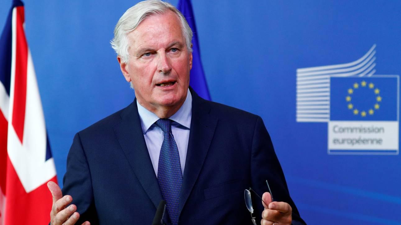 Ανοικτός σε παράταση των διαπραγματεύσεων για το Brexit ο Μπαρνιέ