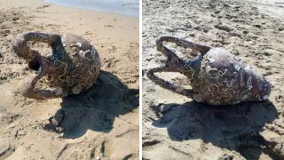 Ηράκλειο: Μία αρχαιολογική «έκπληξη» εντόπισε λουόμενος στην παραλία Αρίνα