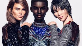 Balmain: με τρία ψηφιακά top models γυρνάει την πλάτη του στην Κιμ Καρντάσιαν