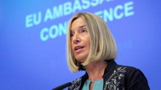 Τέλος μετά το 2019 η Μογκερίνι από τη θέση της Ύπατης Εκπροσώπου για την Εξωτερική Πολιτική