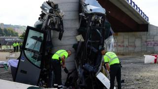 Ισπανία: Πέντε νεκροί και δεκάδες τραυματίες σε δυστύχημα με λεωφορείο