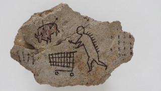 Έργο-φάρσα του Banksy επιστρέφει στο Βρετανικό Μουσείο