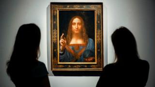 Salvator Mundi: αναβολή επ'αόριστον για την αποκάλυψη του Σωτήρα του Κόσμου στο Λούβρο
