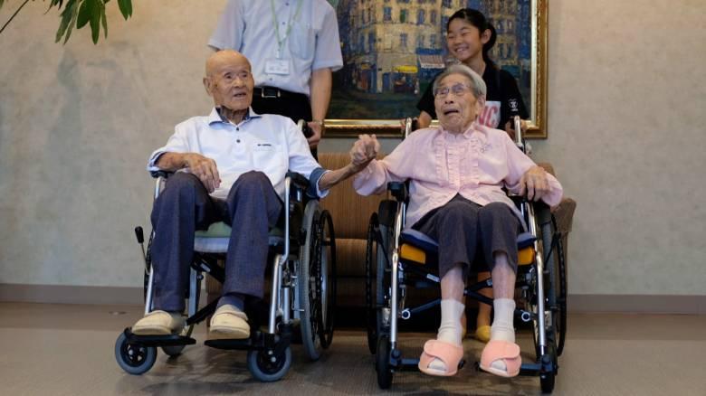 Ιαπωνία: Zευγάρι αποκαλύπτει το μυστικό ενός γάμου 80 ετών
