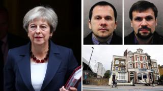 «Ψυχρός πόλεμος» Λονδίνου-Μόσχας για την υπόθεση Σκριπάλ
