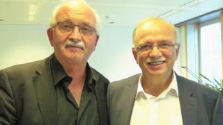 Συνάντηση Παπαδημούλη με τον πρόεδρο της ευρωομάδας των Σοσιαλιστών