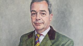 Νάιτζελ Φάρατζ: κανείς δεν θέλει να αγοράσει το πορτρέτο του Mr. Brexit