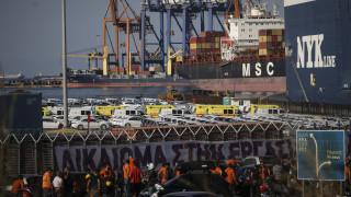 Έληξε η απεργία στις προβλήτες ΙΙ και ΙΙΙ στο λιμάνι του Πειραιά