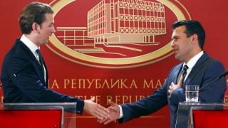Ζάεφ: Έχω λόγους να πιστεύω ότι η Ελλάδα θα στηρίξει τη συμφωνία των Πρεσπών