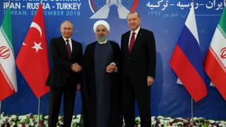 Χωρίς συμφωνία για το Ιντλίμπ η Σύνοδος Ιράν, Ρωσίας, Τουρκίας