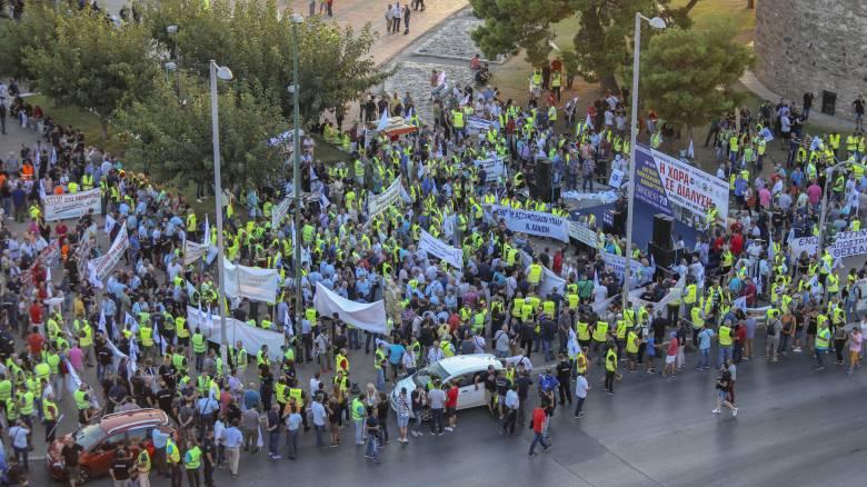ΔΕΘ 2018: Σε κλοιό διαδηλώσεων η Θεσσαλονίκη το απόγευμα